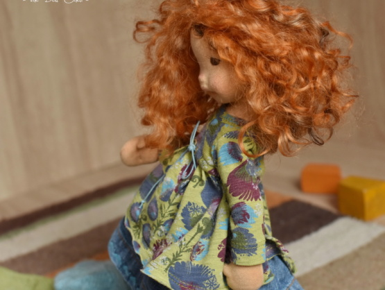 Waldorf doll Marigold