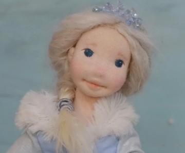 Elsa Frozen Doll Costume